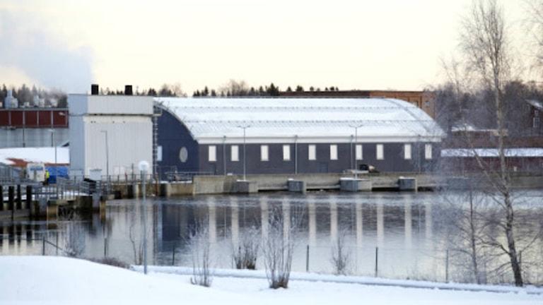 Hissmofors VI Kraftstation. 131219. Foto: Jämtkraft