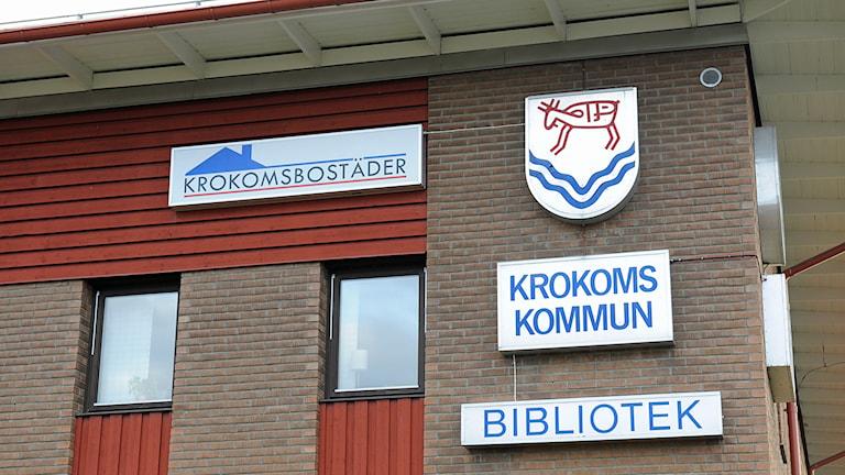 Krokoms kommunhus. Foto: Matts Nylander/Sveriges Radio