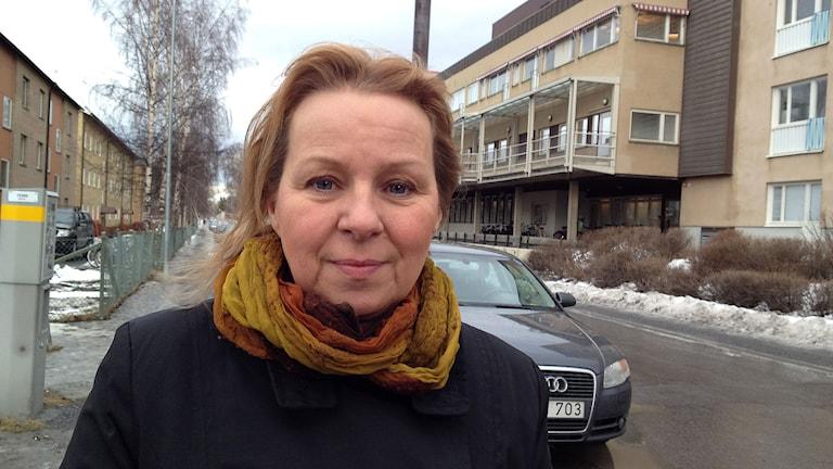 Maria Lundqvist Persson. Foto: Staffan Andersson/Sveriges radio.