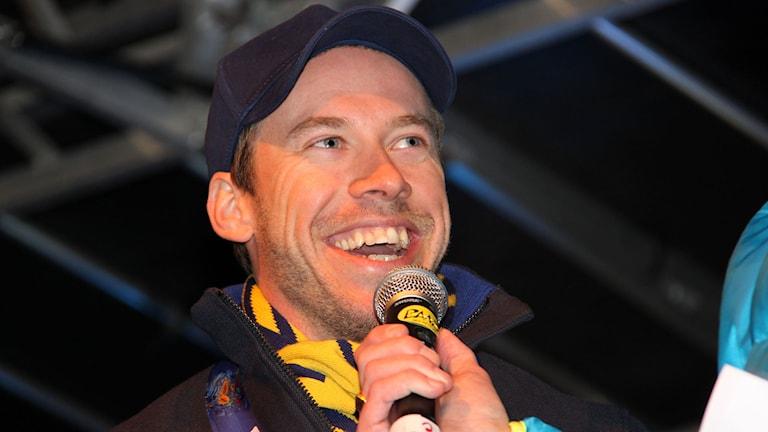 Emil Jönsson. Foto: Janne Mårdberg/Sveriges radio.