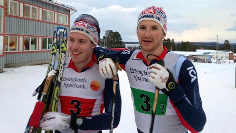 Teodor Peterson och Anton Karlsson