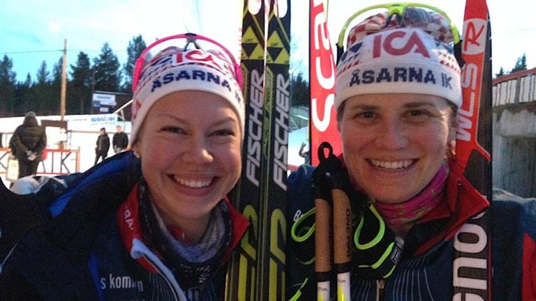 Emma Wikén och Ida Ingemarsdotter