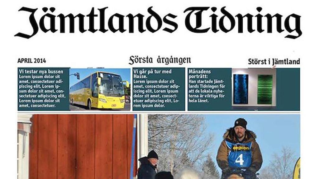 Jämtlands Tidning - testsida.