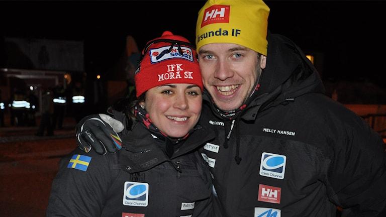 Anna Haag och Emil Jönsson