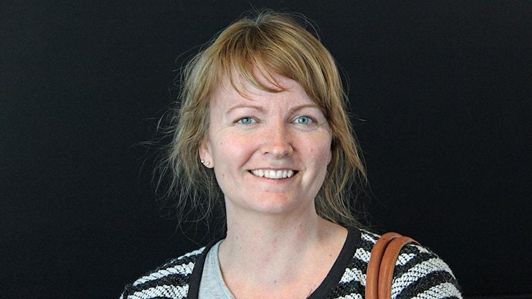 Andrea Wiktorsson. Foto: Janne Mårdberg/Sveriges radio.