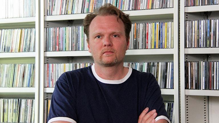 Jens Ganman. Foto: Janne Mårdberg/Sveriges radio.