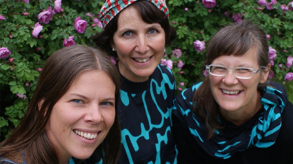 Camilla Abramsson, Frida Kjellgren, Linda Vestberg, Spilloteket