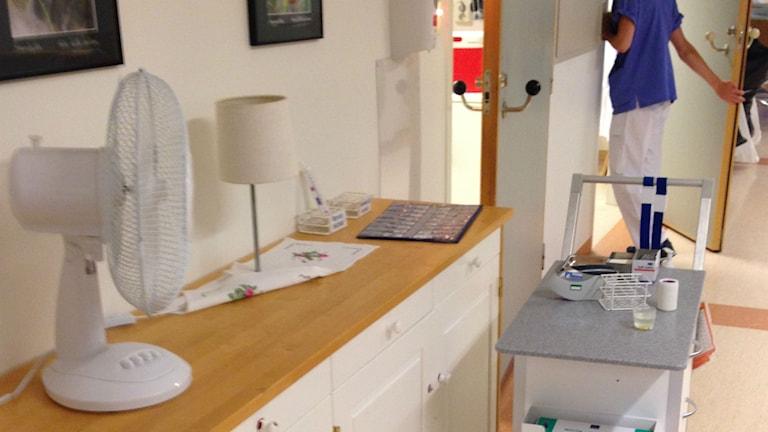 Patientfläktar, Östersunds sjukhus
