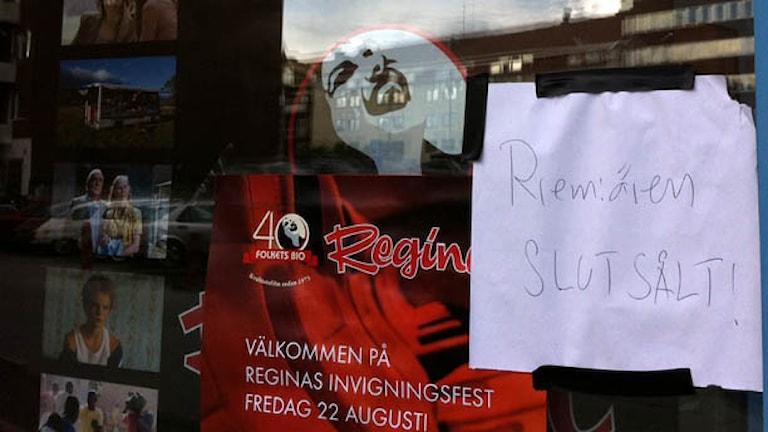 Affisch för Bio Regina