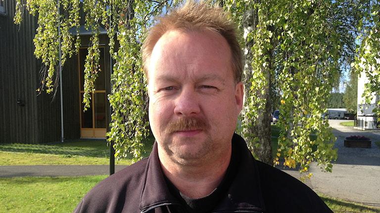 Ronny Karlsson, Sverigedemokraterna i Krokom. Foto: Annelie Lanner/Sveriges radio.