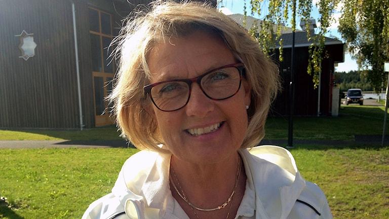 Maria Söderberg, Centerpartiet i Krokom. Foto: Annelie Lanner/Sveriges radio.