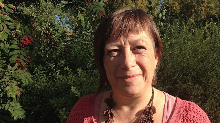 Karin Thomasson, Miljöpartiet i Östersund. Foto: Annelie Lanner/Sveriges radio.