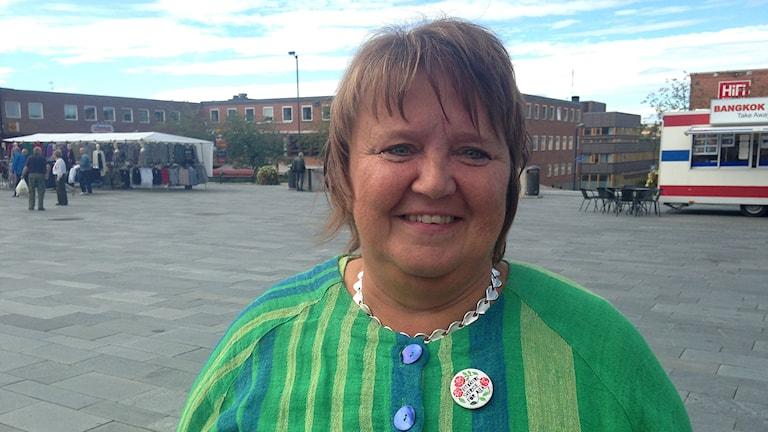 Annsofie Andersson, Socialdemokraterna i Östersund. Foto: Annelie Lanner/Sveriges radio.