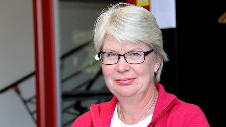 Ann-Marie Johansson (S). Foto: Janne Mårdberg/Sveriges radio.