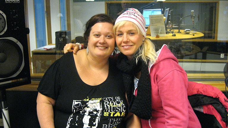 Emma Lööf & Mia Sandström. Foto: Stefan Hanberg/Sveriges Radio