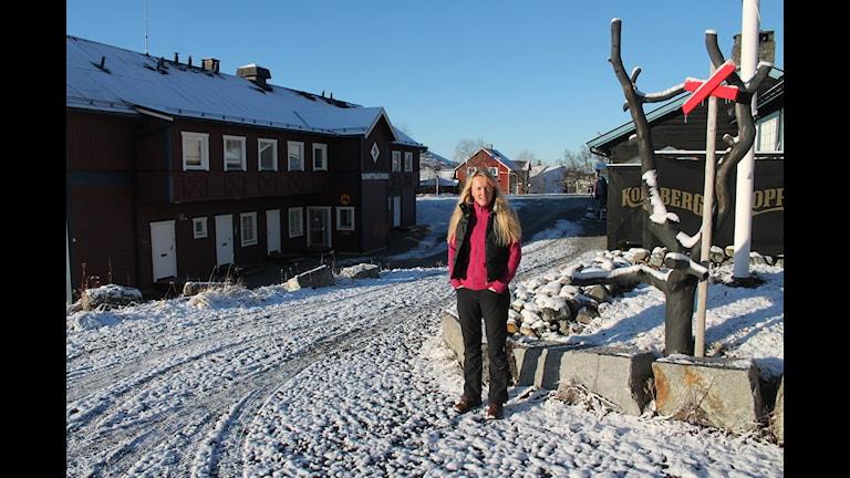 Lena Flaten, krögare i Storlien.