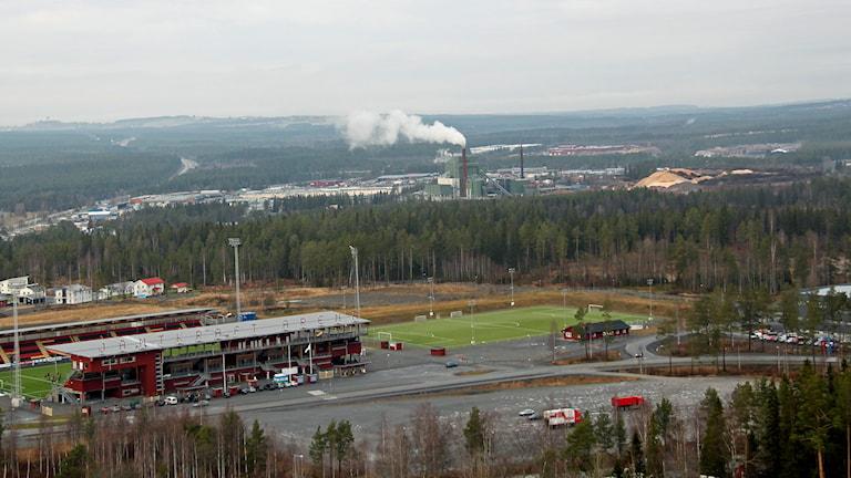 Stadsdel norr. Foto: Janne Mårdberg/Sveriges radio.