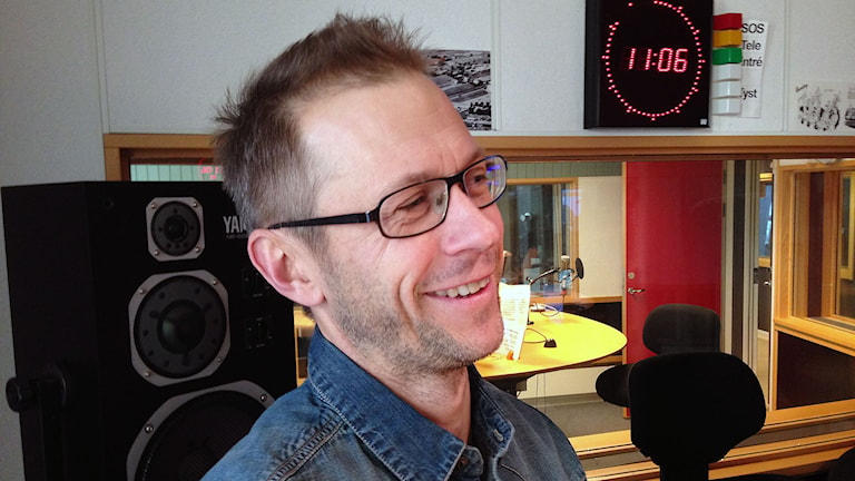 Mattias Jaktlund. Foto: Camilla Wahlman/Sveriges radio.