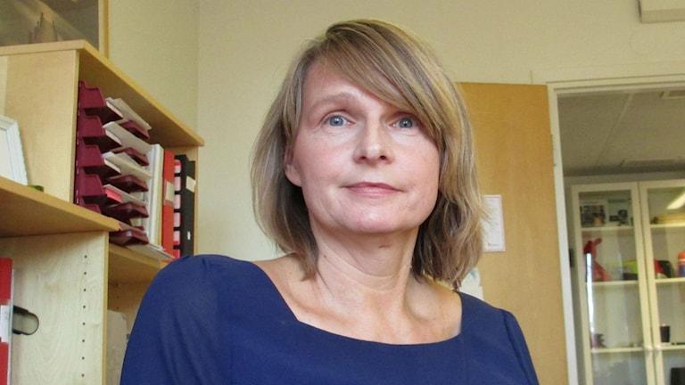 Marie Forsberg är verksamhetsutvecklare på Rädda Barnen i Jämtland och Västernorrland.