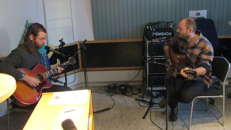 Fredrik Björns & Marcus Ernehed. Foto Stefan Hanberg Sveriges Radio