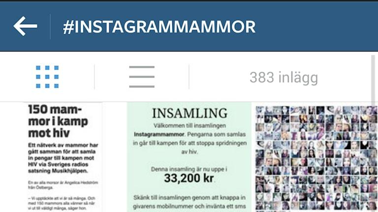 instagram, insamling, musikhjälpen