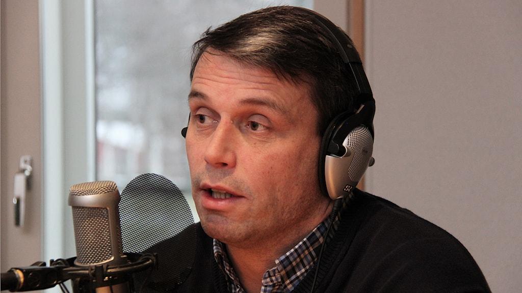 Daniel Kindberg. Foto: Janne Mårdberg/Sveriges radio.