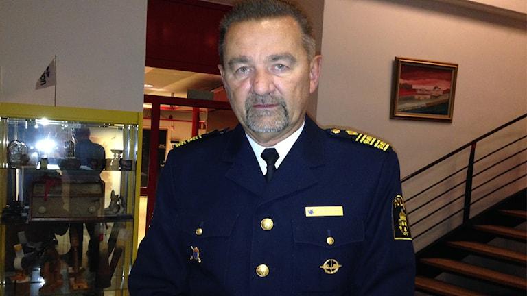 Stephen Jerand, polisområdeschef.