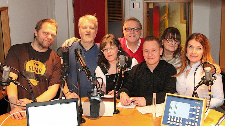 Rimstugans laguppställning 2014. Foto: Janne Mårdberg/SVeriges radio.