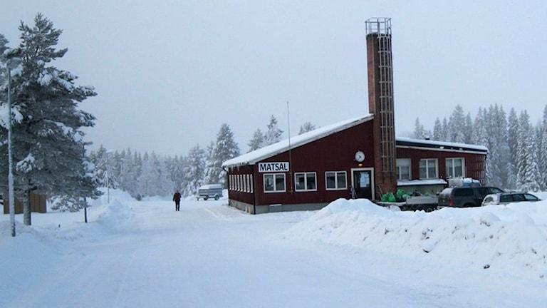 Flyktingboendet Grytan. Foto: P4 Jämtland / Sveriges Radio