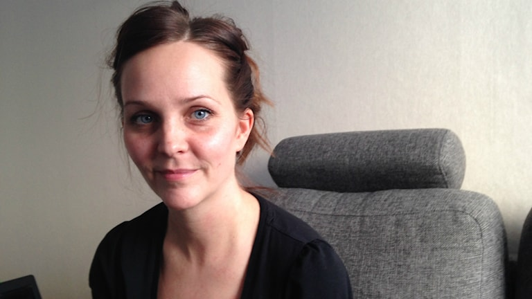 Matilda Strömqvist. Foto: Sara Johansson/ Sveriges Radio