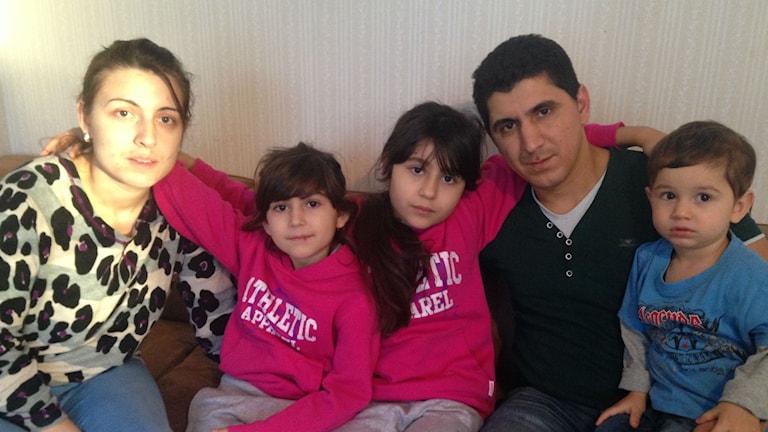 Familjen Gima i Kaxås hotas av utvisning.