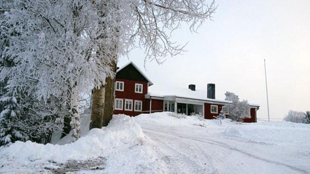 Gåxsjö bio, tillika bygdegården. Foto: Ann-Louise Rönestål Ek/P4 Jämtland.