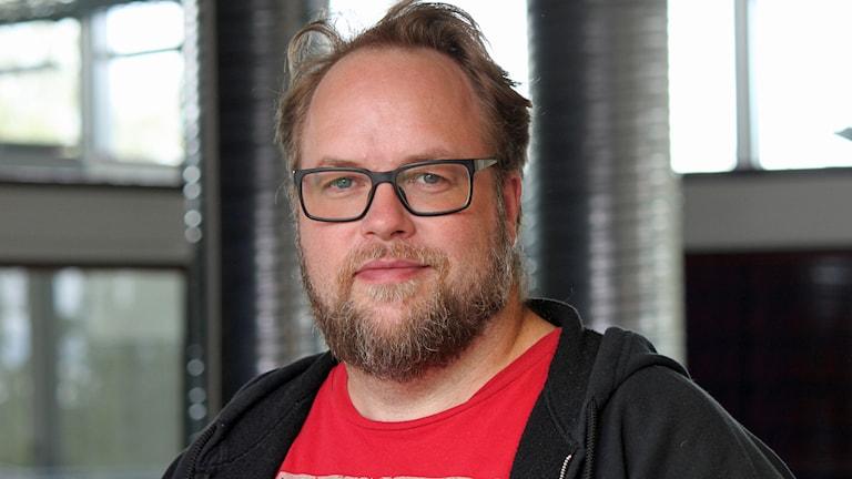 Anders Mellgren. Foto Janne Mårdberg/Sveriges Radio.