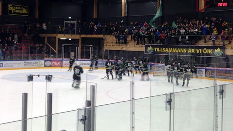 ÖIK spelar på hemmaplan i Östersund Arena.