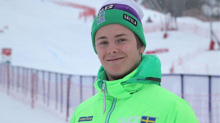 Erik Mobärg från som tävlar för Edsåsdalen.