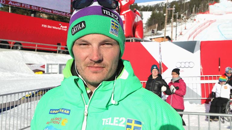 Tommy Eliasson Winter vid världscupstävlingarna i Åre 2015