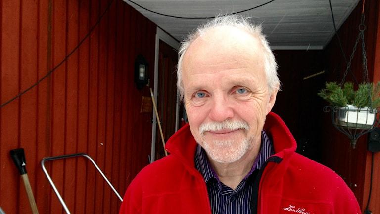 Ola Risberg samordnar de flesta kommunala gymnasieskolorna i Västernorrland - och han tror att Jämtland snart kommer med i det. Foto: Lotte Nord, Sveriges radio.