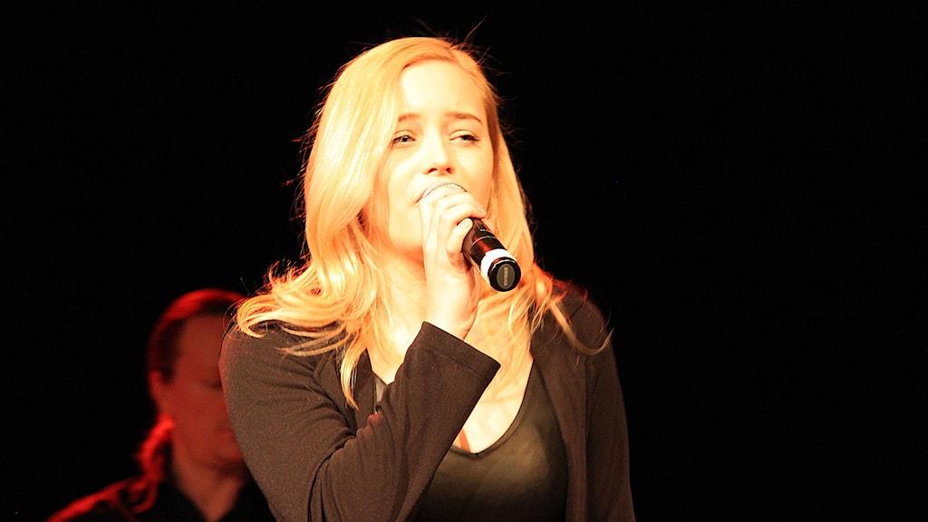 Matilda Melin. Foto: Janne Mårdberg/Sveriges radio.