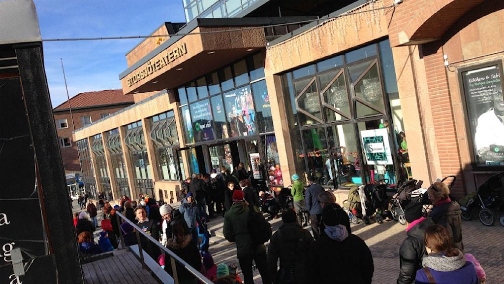 Storsjöteatern under Melodifestivalen.