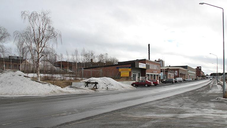 Bangårdsgatan. Foto: Janne Mårdberg/Sveriges Radio.