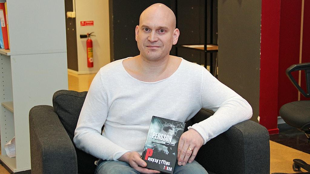 Martin Persson. Foto: Janne Mårdberg/Sveriges Radio.