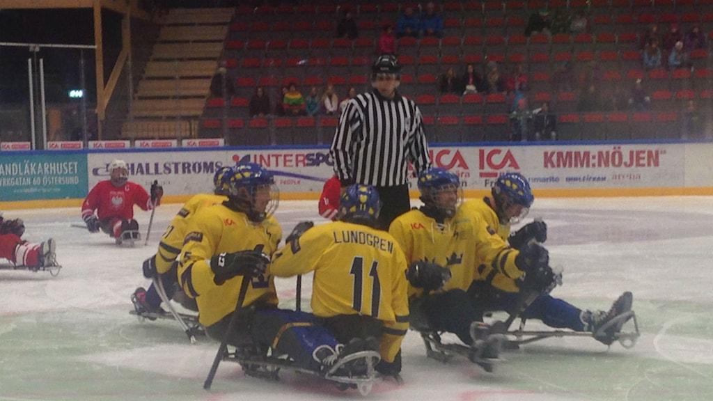 Sverige vann mötet mot Polen