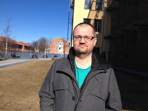 Thomas Widenstejerna, statsvetare som forskar i svensk lokalpolitik