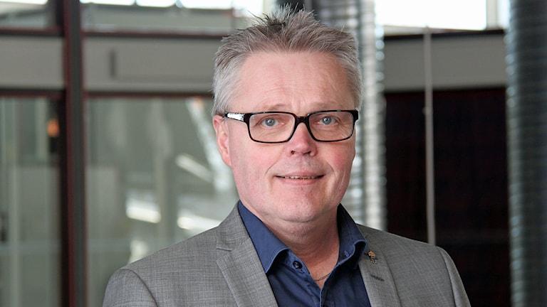 Landshövding Jöran Hägglund. Foto: Janne Mårdberg/Sveriges Radio.