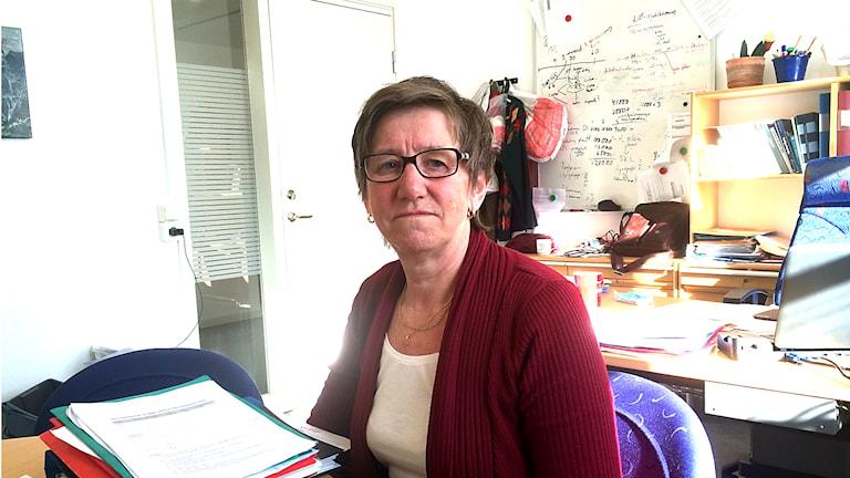 Annica Sörensdotter är personalchef inom Region Jämtland Härjedalen. Foto: Filip Gustafsson/SR