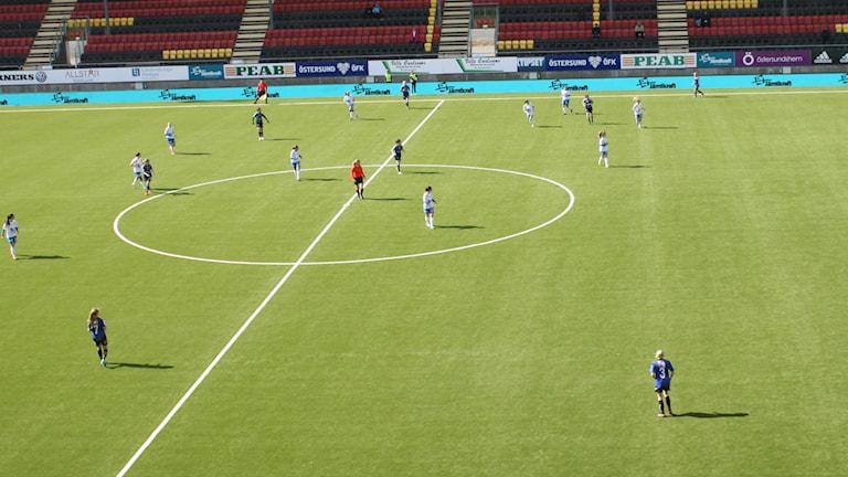 ÖDFF mot Sunnanå. Foto: Fredrik Sjölund