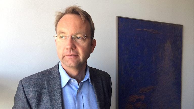 Regiondirektören Björn Eriksson. Foto: Filip Gustafsson Högman/SR