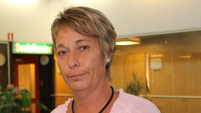 Anna-Lena Andersson (S), vice ordförande i kommunstyrelsen i Härjedalen och valberedningens ordförande.