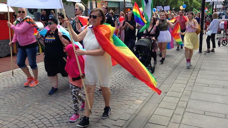 Prideparad Ösd 2015