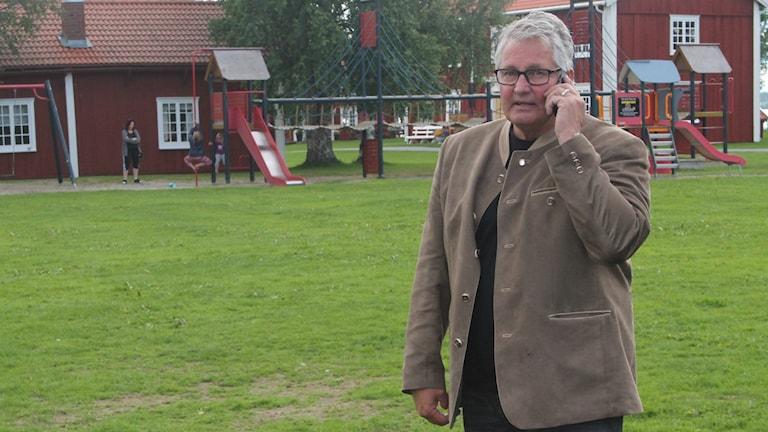 Göran Bergström, socialdemokratiskt kommunalråd i Strömsund. Foto: Marcus Frånberg.